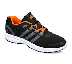 Adidas Black Running Shoes @10% OFF