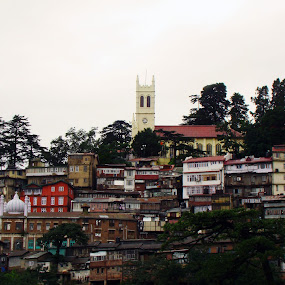 by Raajesh Thakur - City,  Street & Park  Historic Districts ( shimla, queen of hills, city )