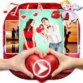 Love Video Maker with Music APK for Bluestacks