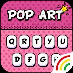 Sweetie Pop Art Keyboard Theme - Emoji & Gif Icon