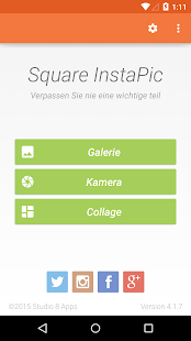 Square InstaPic - Photo Editor – Miniaturansicht des Screenshots