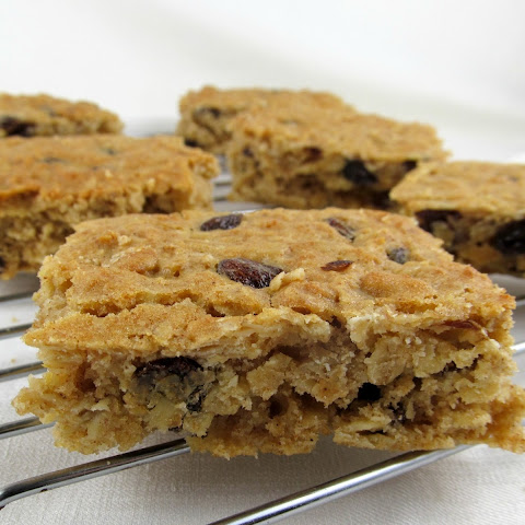 Oatmeal Raisin Honey Cookies or Bars