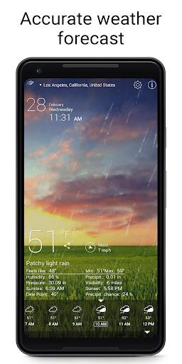 Weather Live Free screenshot 2