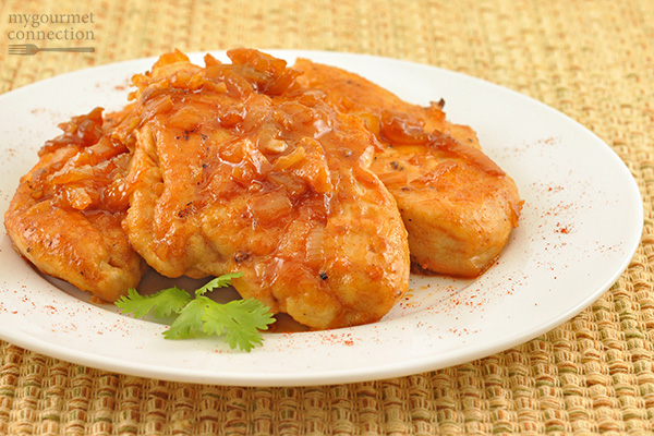 Pan-Fried Chicken with Smoked Paprika and Honey Recipe | Yummly