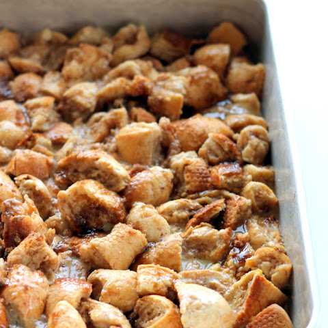 Upside-Down Orange Caramel Pecan French Toast Bake