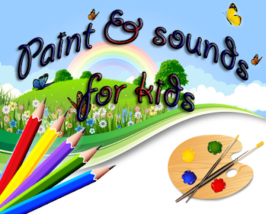 Paint & sounds for kids - screenshot