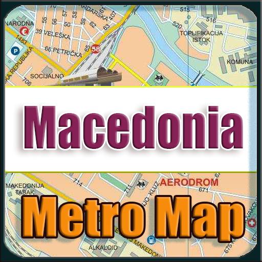 Android aplikacija Macedonia Metro Map Offline na Android Srbija