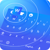 Blue Wave Keyboard Theme APK for Lenovo