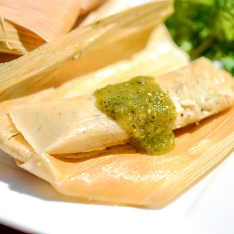 Tamales With Green Chili and Pork
