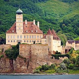 Fairy Tale Castle by Jerry Ehlers - Buildings & Architecture Public & Historical ( german, castle, rhine river )