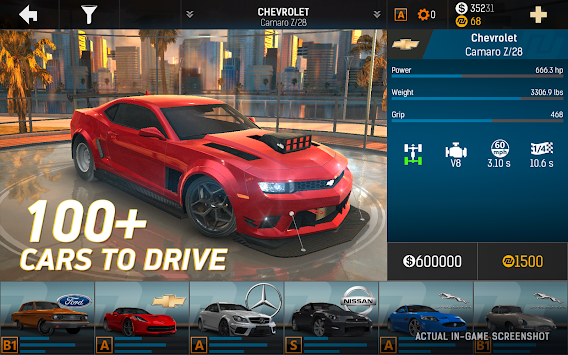 Nitro Nation Online APK screenshot thumbnail 2