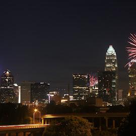 Independence Day Celebration - Charlotte, NC by Avishek Bhattacharya - Public Holidays July 4th
