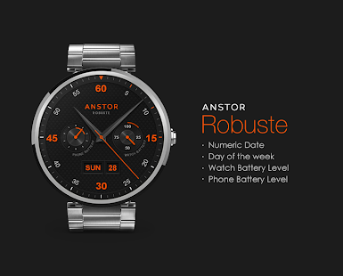 Robuste watchface by Anstor Screenshot