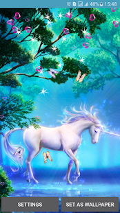 Unicorn Live Wallpapers - screenshot