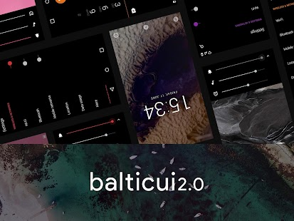 baltic ui - for CM13/CM12.1- screenshot thumbnail