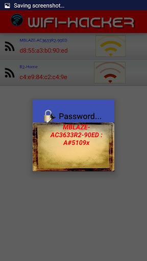 WiFi Hacker - screenshot