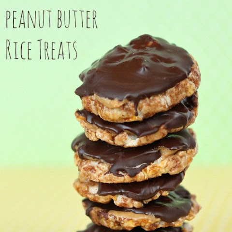 Chocolate Peanut Butter Rice Treats