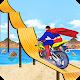 Superhero Tricky Bike Crazy Stunt Master