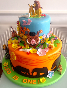 Lion King Cake Decorations Uk : Bespoke Celebration Cakes Hertfordshire Cakes By BabyBelle s