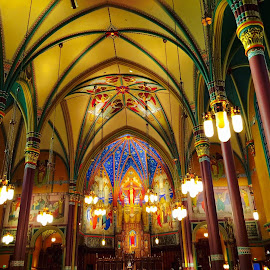 Cathedral of The Madeline  by Ryan Sawicki - Buildings & Architecture Places of Worship