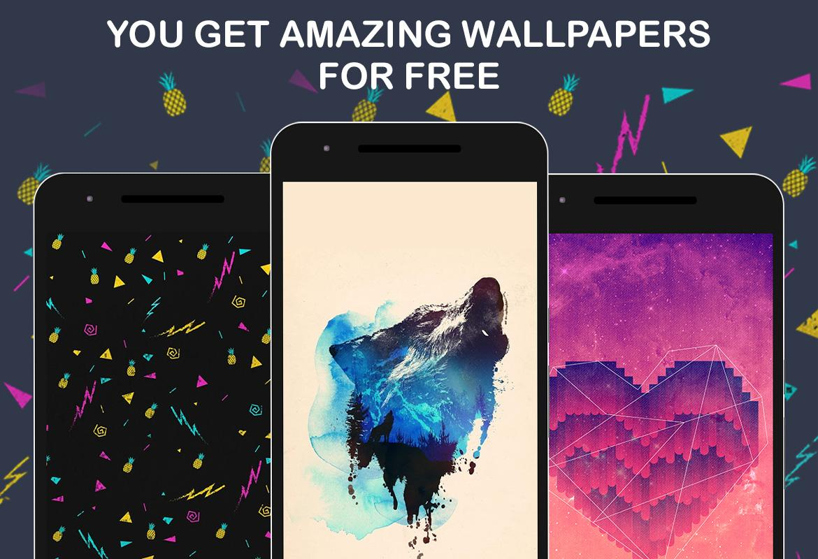 Walli - HD Wallpapers & Backgrounds Screenshot 2