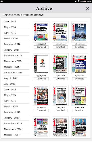 The i Digital Edition - screenshot
