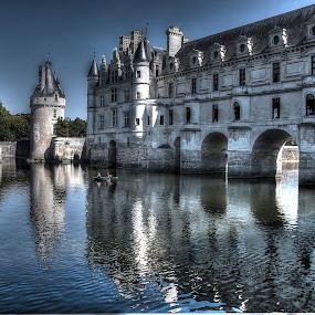 A boat trip by John O'Groats - Buildings & Architecture Public & Historical ( loire, chenonceau, castle, france, boat )