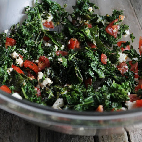 Kale Salad with French Feta