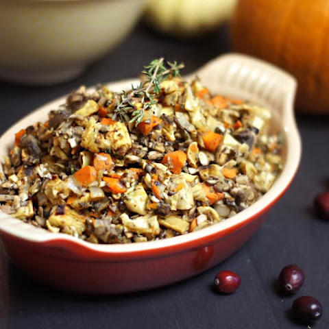 Grain-Free Stuffing (Low-Carb, Low-Fat)