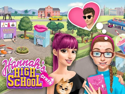 Game Hannah's High School Crush - First Date Charms APK for Windows Phone