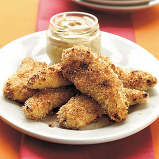 """Fried"" Panko Chicken Tenders"