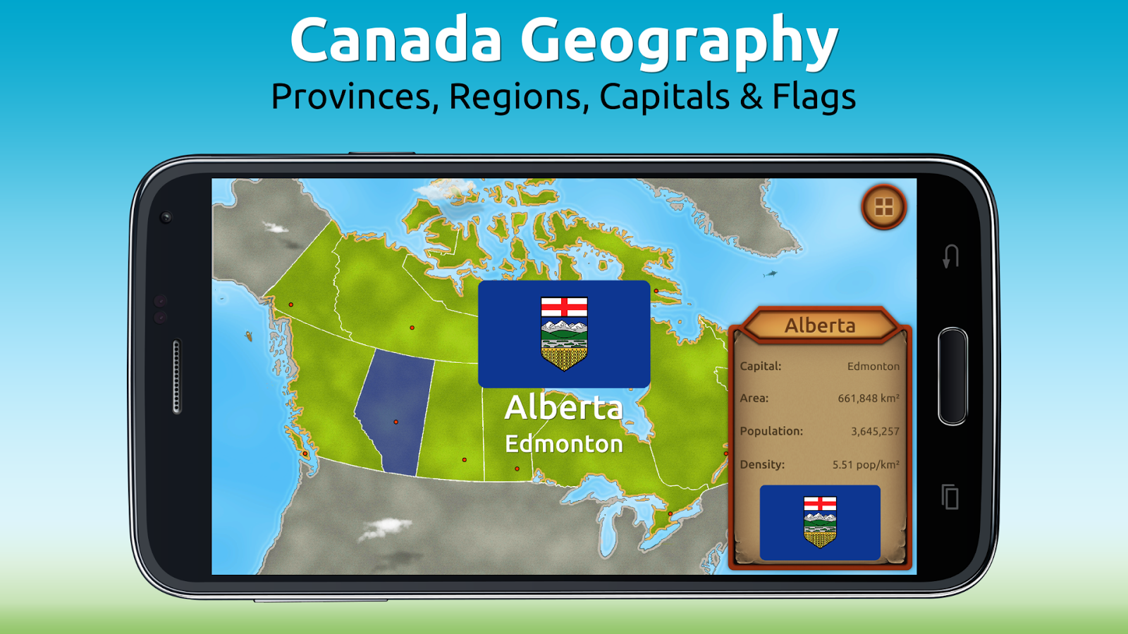 GeoExpert - Canada Geography Screenshot 0