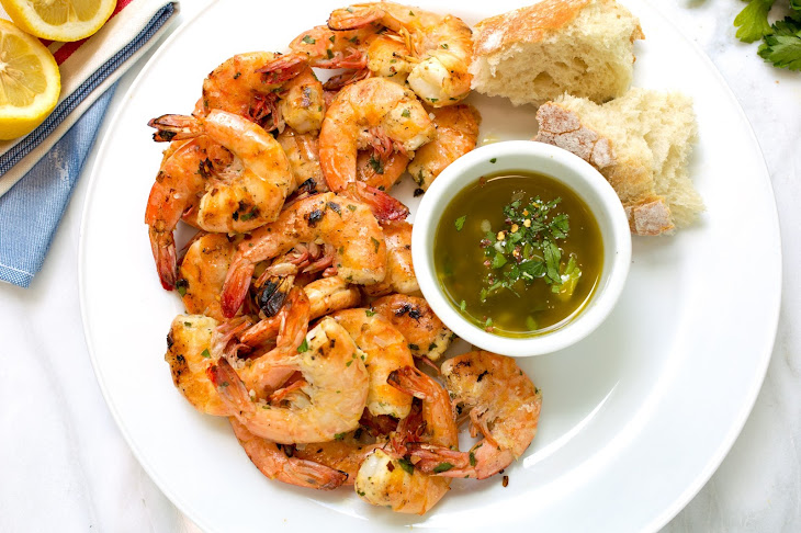 Grilled Shrimp Scampi Recipe | Yummly