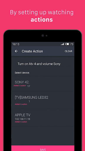 Universal Smart Remote Ezzi TV screenshot 13