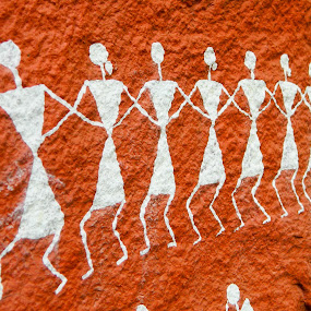 Warli Painting by Amit Kumar - Street Art All Street Art