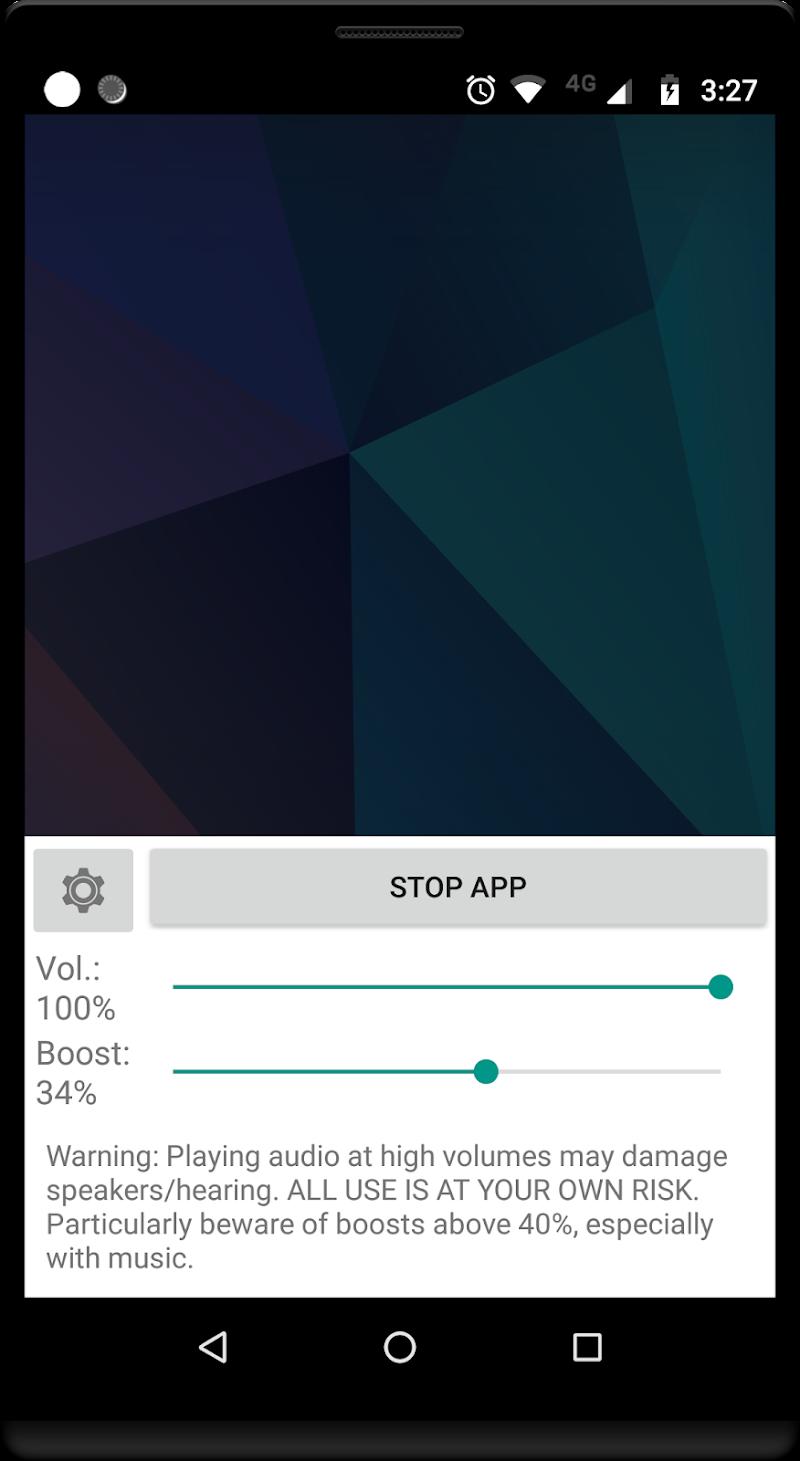 Volume Booster GOODEV Screenshot 1