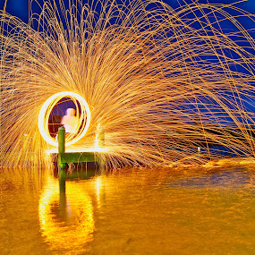 by Adam Scarf - Abstract Light Painting