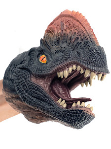 "Игрушка-фигурка серии ""Город Игр"", динозавр дилофозавр, бибабо"
