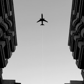 the aeroplane !! by Harshit Chawla - Buildings & Architecture Office Buildings & Hotels ( #mobile #iphone, #aeroplane #wow #amazing #sky #fly )