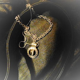 Leather and Chain by Liz Pascal - Artistic Objects Clothing & Accessories