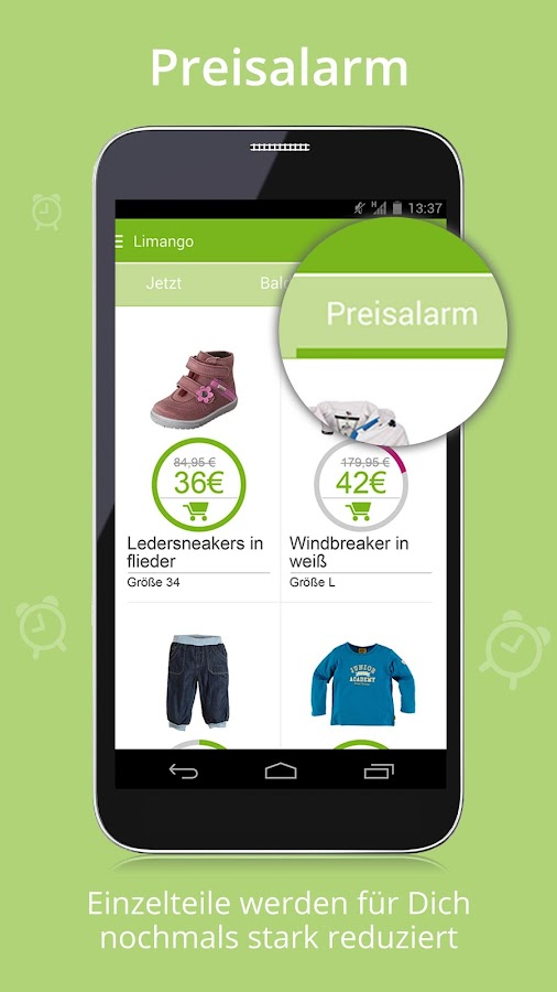 Limango - Familien Shop Screenshot 5