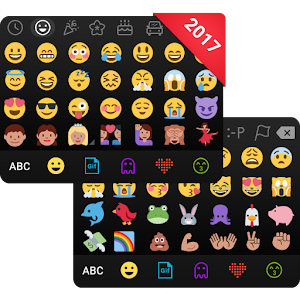 Kika Emoji Keyboard+Emoticons Vwd