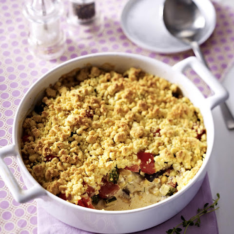 Vegetable Crumble Casserole