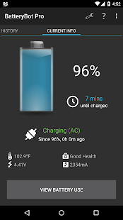 BatteryBot Pro Screenshot