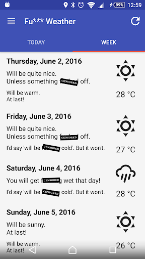 Fu*** Weather (Funny Weather) For PC