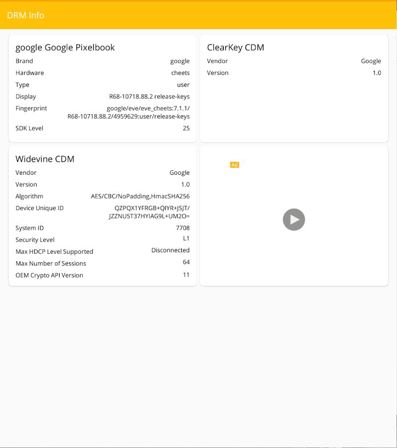 DRM Info Screenshot 7