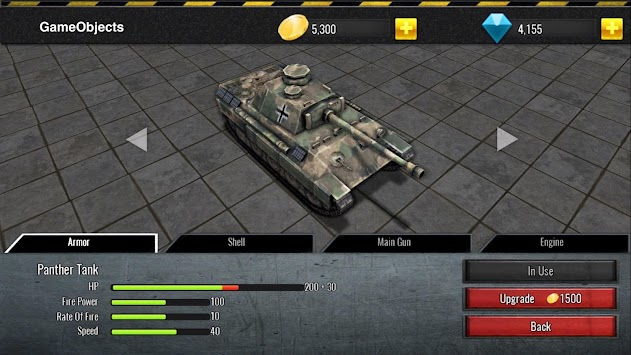 Battle Tanks.io: WW2 Tank Hero PvP APK screenshot thumbnail 1