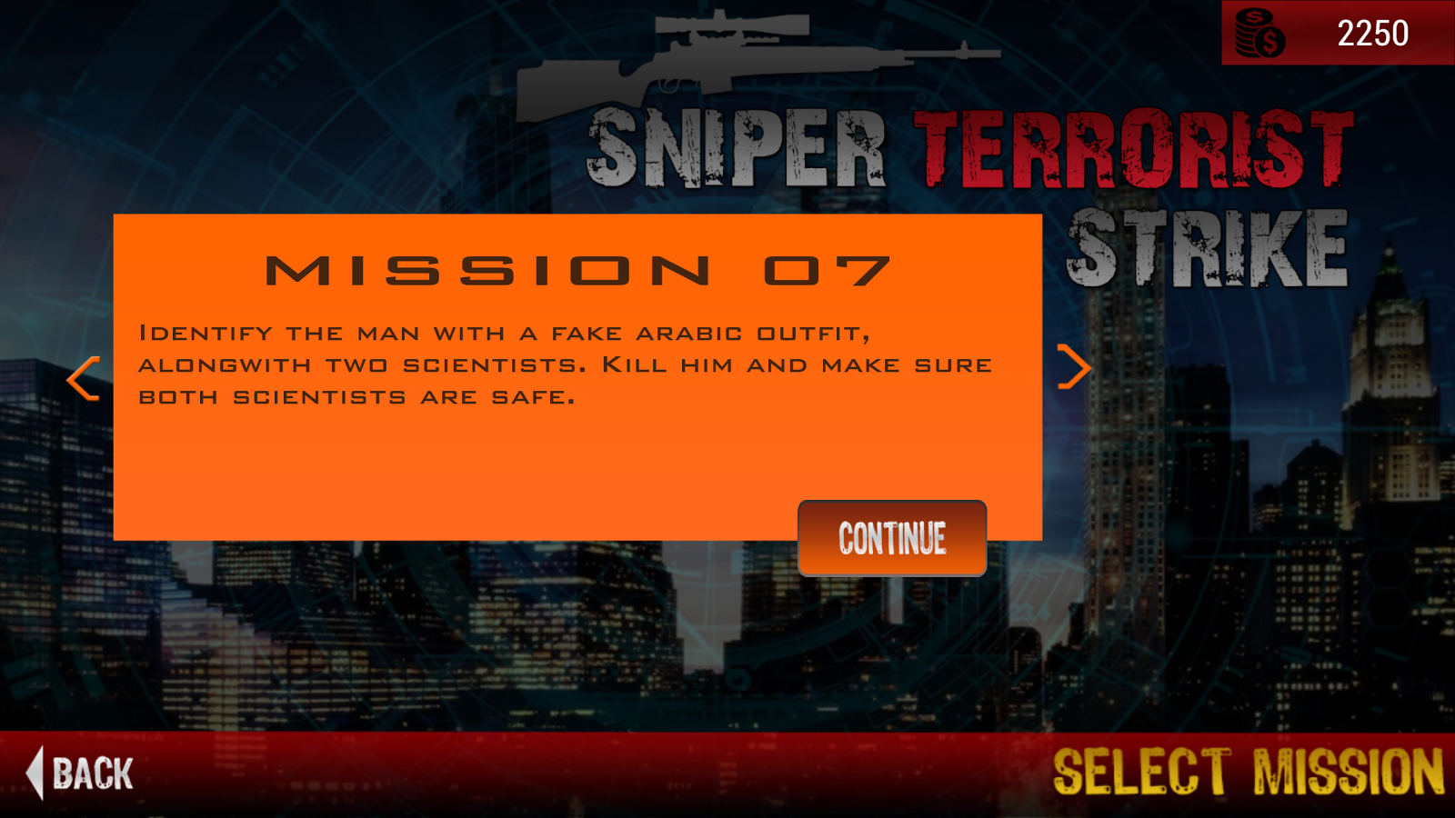 Sniper Terrorist Strike Screenshot 11