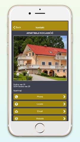 android Kocjančič Screenshot 2