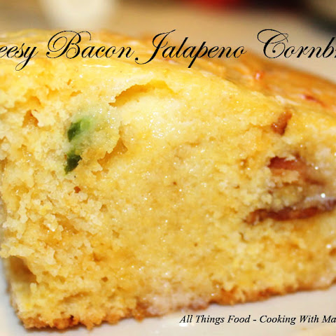 Cheesy Bacon Jalapeno Cornbread